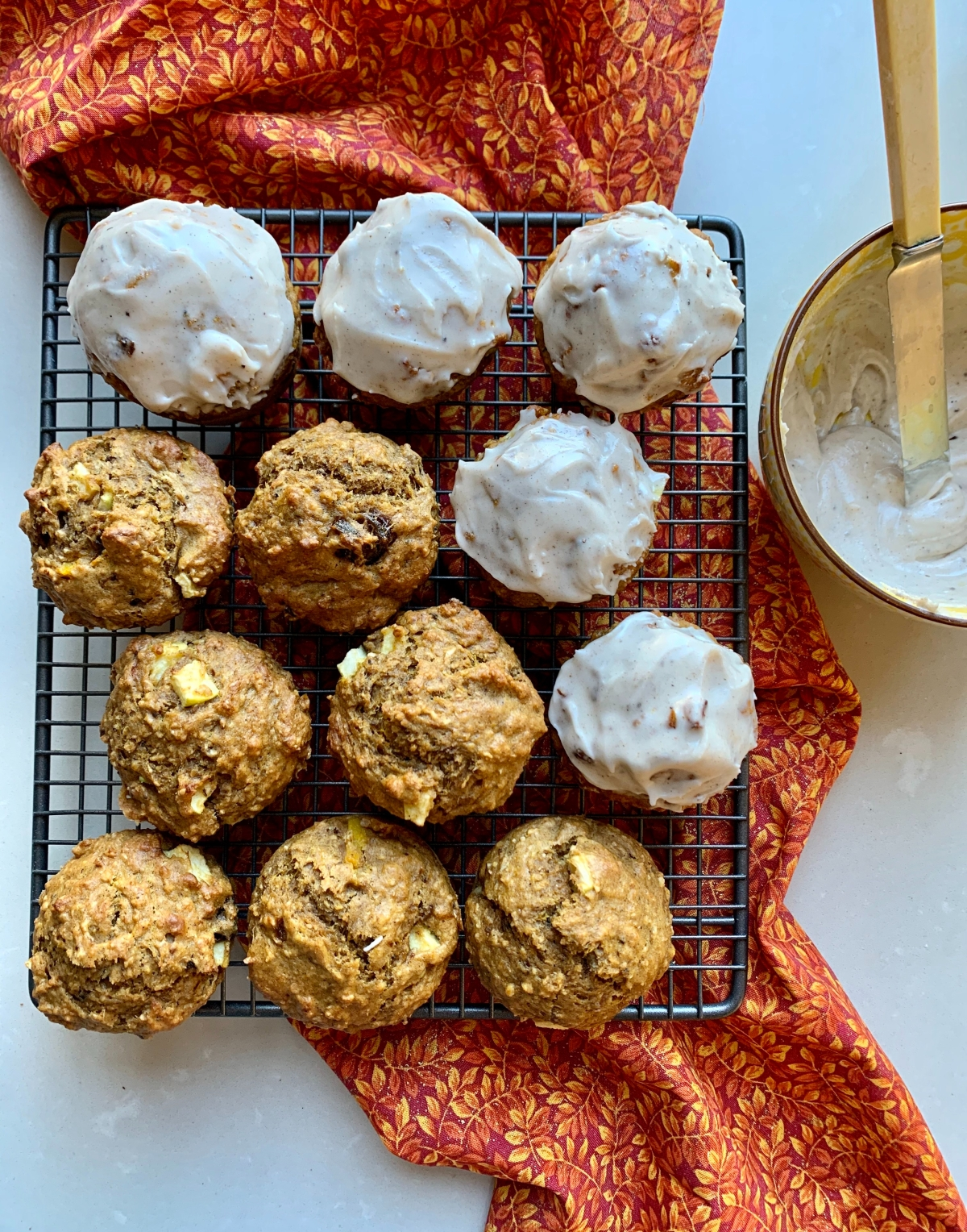 Pumpkin and Apple Spice Muffins