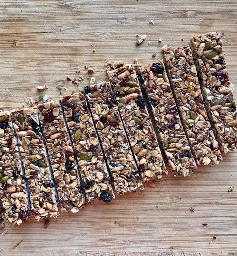 Nut Free, Lunchbox Friendly MuesliBars