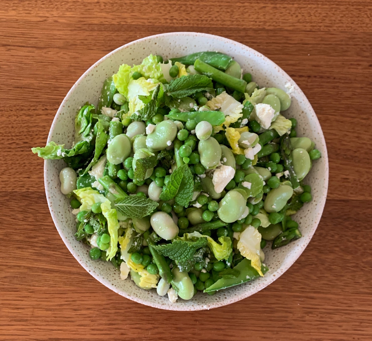 Spring Pea and Broad Bean Salad
