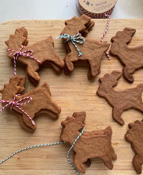 Speculaas Reindeer Biscuits