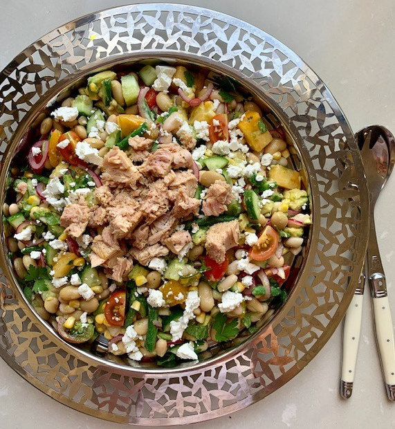 Tuna and Bean Nicoise Style Salad