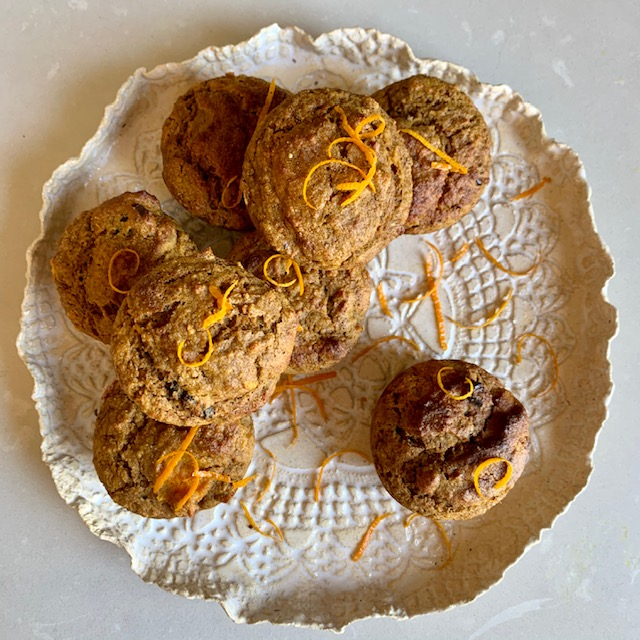 Orange, Pumpkin and Date Muffins